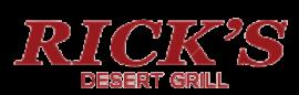 Ricks Desert Grill Logo